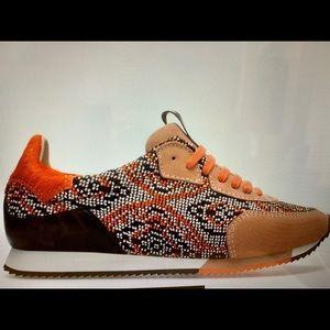 Zara leather sneakers